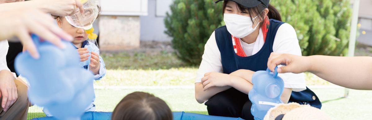幼児・児童教育学科幼児保育コース画像